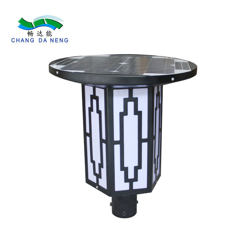 Garden used solar powered landscape lights led lamp bright outdoor lighting