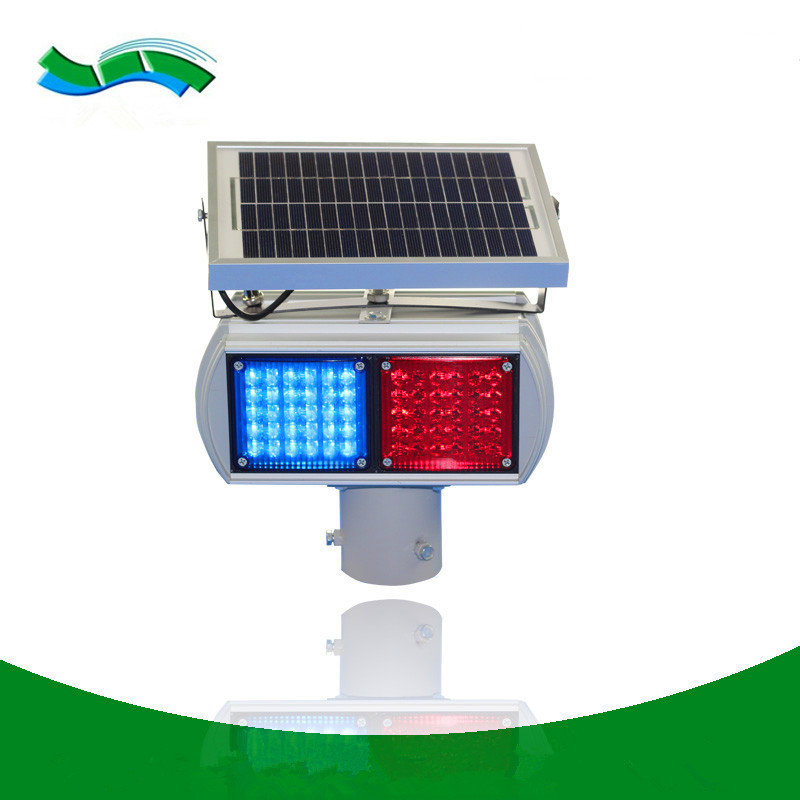 Great varieties solar traffic warning light aluminum led traffic warning beacon